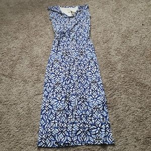 CHICO'S | NWT Sleeveless Maxi Dress Sz 0 (S/4)